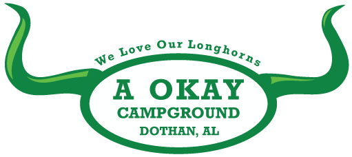 A Okay Campground Logo